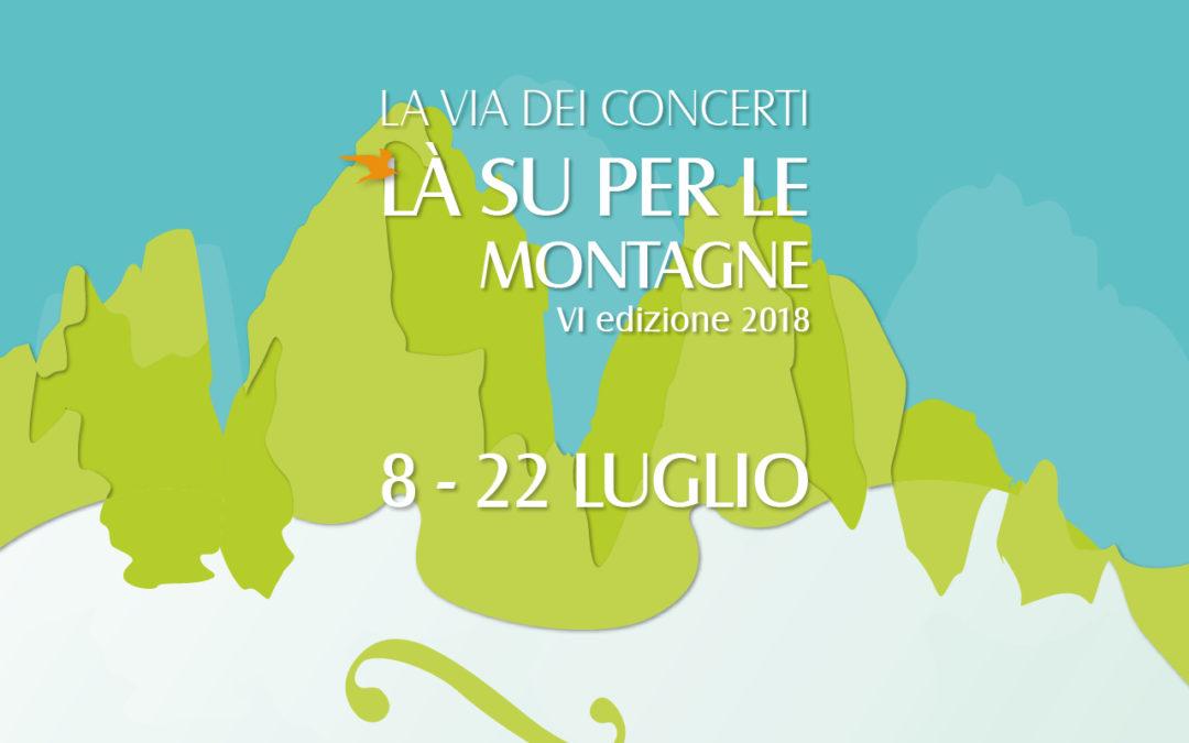Festival La Via dei Concerti 2018, VI edizione